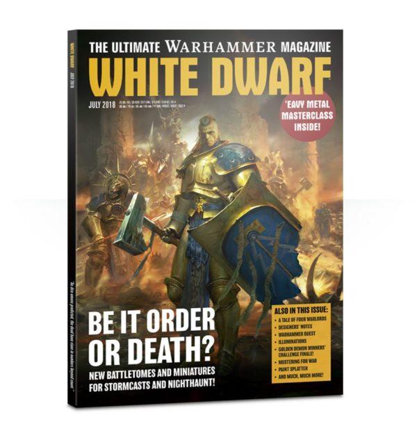 White Dwarf July 2018