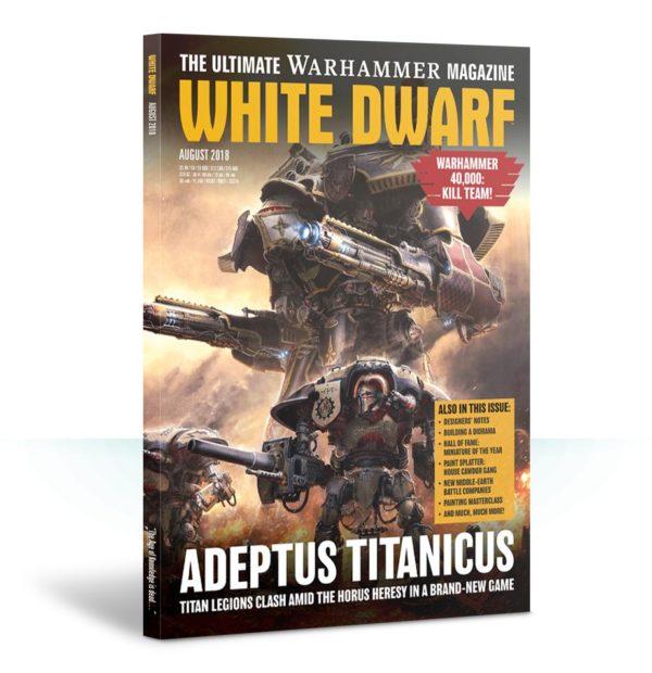 White Dwarf August 2018
