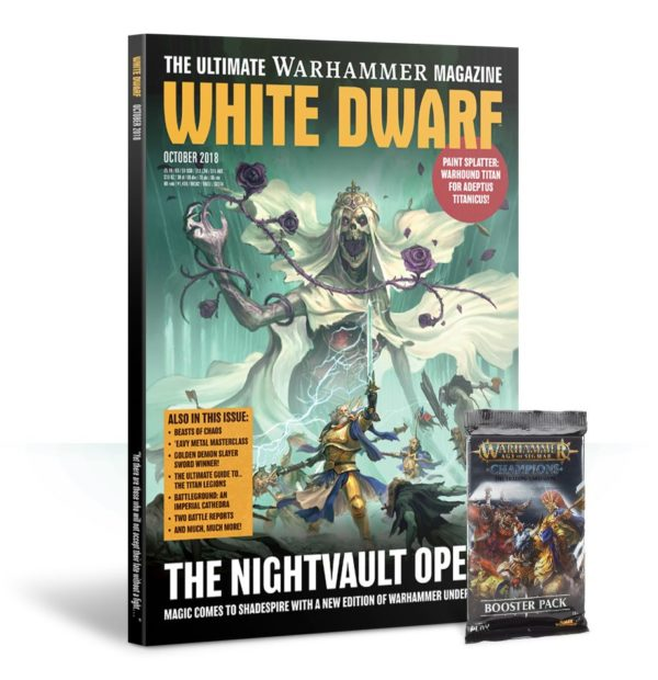 White Dwarf October 2018