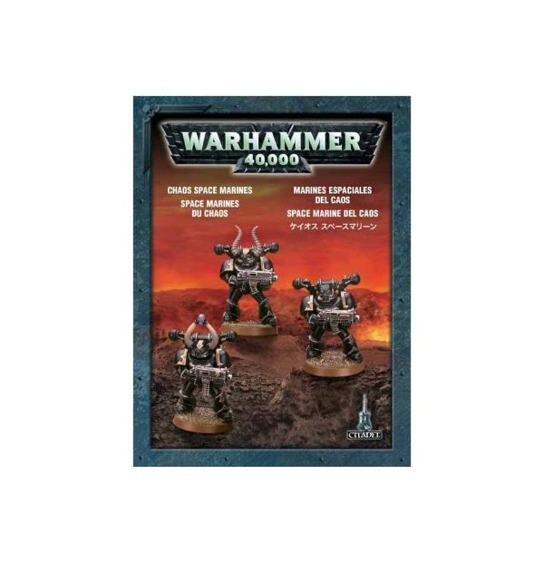 Chaos Space Marines (dry fit)