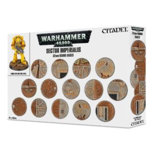 Sector Imperialis Bases de 32mm