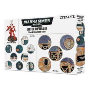 Sector Imperialis Bases 25mm y 40mm