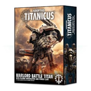 Warlord Battle Titan With Plasma Annihilator