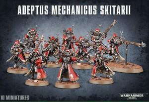 Adeptus Mechanicus Skitarii Rangers / Vanguard