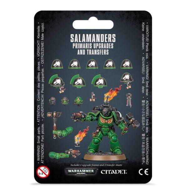 Salamanders Primaris Upgrades
