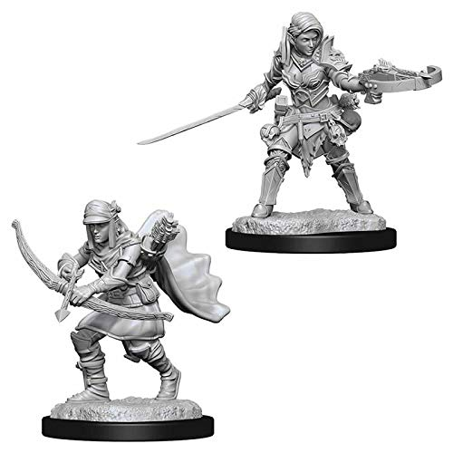 Pathfinder Deep Cuts: Female Half-Elf Ranger