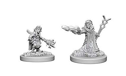 Nolzur's Marvelous Miniatures: Female Gnome Wizard