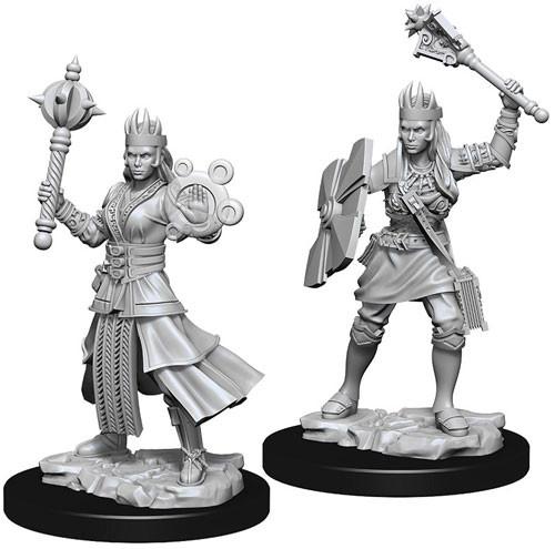 Nolzur's Marvelous Miniatures: Female Human Cleric