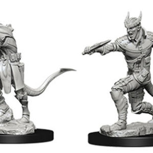 Nolzur's Marvelous Miniatures: Male Tiefling Rogue