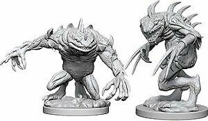 Nolzur's Marvelous Miniatures: Death Slaad & Grey Slaad