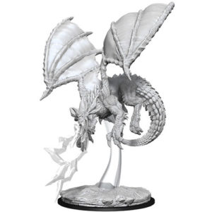 Nolzur's Marvelous Miniatures: Young Blue Dragon