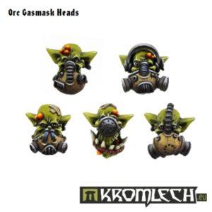Ork Gasmask Heads