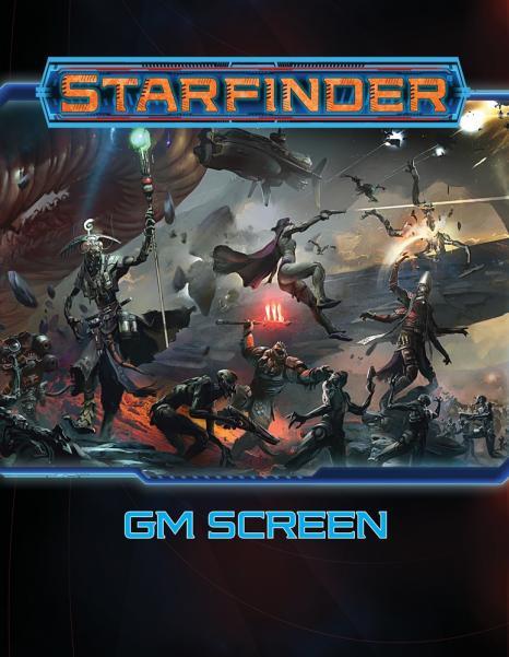 Starfinder RPG: GM Screen